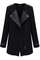 Lalang Outwear Coat Jacket Black