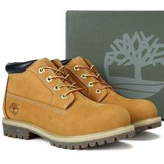 e26d7458d3 Leather Hiking Boots For Timberland 23061 Mid Cut Water Proof Men (Yellow)  - intl