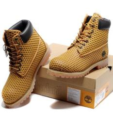 6e19e17451 Leather Hiking Shoes For Timberland Boots 54054 Icon 6 Premium Men (Yellow)  - intl