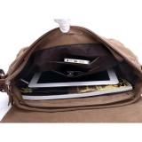 8d2d8d670ea Leegoal Men s Vintage Canvas Schoolbag Shoulder Messenger Bag, Black - intl    Lazada PH