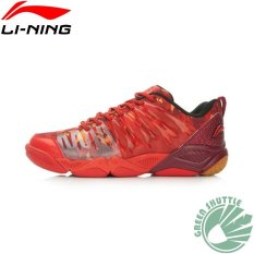 Lining Badminton Shoes Aytl039 Red Intl