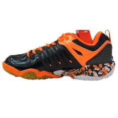 Lining Badminton Shoes Aytl063 Orange Intl