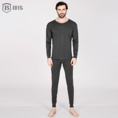 2017 Autumn And Winter Cotton Thermal Underwear Men Crew Neck Thermal Underwear Solid Color On The Thread Mouth Cuff Old Man Heattech By Taobao Collection.