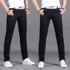 f6fa0a9476 Men s Pants Spring New Style 2017 Black Casual Pants man Straight Loose  Plus-sized Versatile
