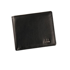 Men Bifold Business Leather Wallet ID Credit Card Holder Purse Pockets BK - intl