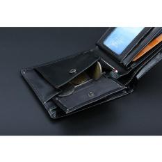 Men Bifold Business Leather Wallet ID Credit Card Holder Purse Pockets - intl
