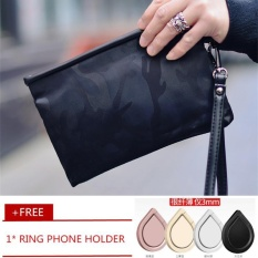 Men Nylon Camouflage Wallet Business Envelope Bag Clutch Leisure Oxford Clotch Handbag Wristlet Wrist Bag Free