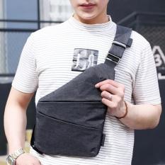 6a4d75e7d5cc Men Sling Shoulder Cross Body Man Outdoor Casual Bag - Left Shoulder Bag -  intl