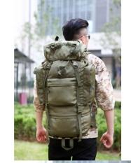 Mens Backpackmens New Military Backpack Waterproof 1680 D Oxford Bags Travel 70 L Backpack Leisure Notebook Laptop Boy Backpack-Green - Intl By Letonwen.