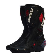 Mens Motor Shoe/womens Motorcycle Boot Covers Pro Vortice Style Protecting Shoe For Cycling(black) - Intl By Swissant.