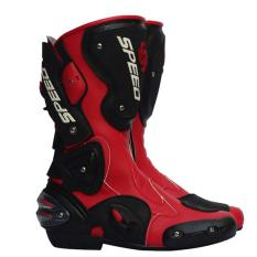 Mens Motor Shoe/womens Motorcycle Boot Covers Pro Vortice Style Protecting Shoe For Cycling(red) - Intl - Intl By Swissant.