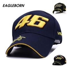 bf50c6fbddb MHS Eagleborn High Quality Moto Gp Rossi Vr 46 Baseball Cap  Cottonembroidery Motorcycle Racing Cap Vr46