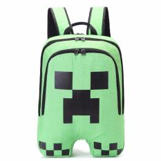 fb03555a10cc Minecraft Backpack High Quality Unisex Children School Bag Boy Girls Travel  Bag