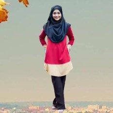 abefc2e4e87386 Muslim women s clothing Max size Islamic costume Arab costume Malay T-shirt  - intl