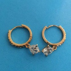 New Fashion Earring (Gold)