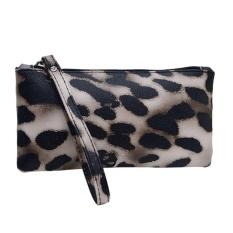 New HAndbAg FAshion Women PU LeAther Zipper Purse Mini Coin BAg ( FlorAl ) - intl