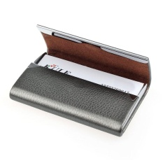 New Leather Business Credit Card Name Id Card Holder Case Wallet Box BK - intlPHP193 · PHP 193