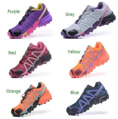 PHP 4.075. New Outdoor Hiking Shoes Solomonm Speed Cross 4 Sneakers Women s  Outdoor Running Footwear Size ... 7820bd0e8b