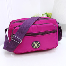 New style lightweight waterproof nylon shoulder women bag bags (Sapphire blue color)