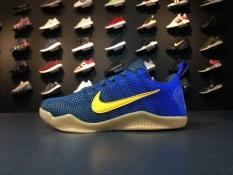 Nike Kobe XI 11 Elite Low Mambacurial FC Barcelona Mens 844130-464  Basketball Shoes -