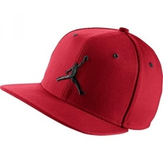 05245c2f990 Nike Mens Air Jordan Jumpman Snapback Hat Gym Red Black 619360-689 - intl  Philippines