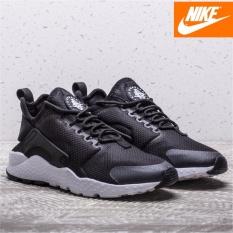low priced 3e3dd 0d362 Nike Wmns Air Huarache Run Ultra 819151-008 Black White 100% Original