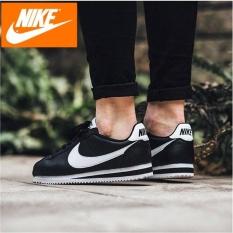 Nike Wmns Classic Cortez Leather 807471-010 Black/White 100% Original