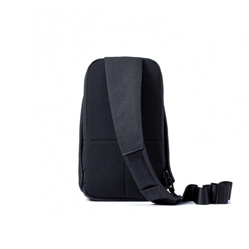 Original Xiaomi Backpack urban leisure chest pack For Men Women Small Size  Shoulder Type Unisex Rucksack for camera DVD phones - Black - intl  693ae6d3d6ee0