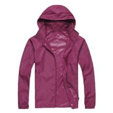 d07a63fb718d 5602 items found in Jackets. Outdoor Unisex Cycling Running Waterproof  Windproof Jacket Rain Coat -Purple Red - intl