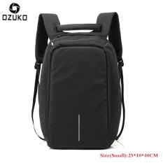 OZUKO Waterproof Oxford Men s Business Backpack External USB Charging  15.6inch Laptop Backpack Multi-functional 1949823d36