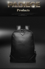 Padieoe New Arrivals Woman s Backpack Genuine Cow Leather Backpacks Casual  Men Bag Ladies Backpack High Capacity 80500938609d7