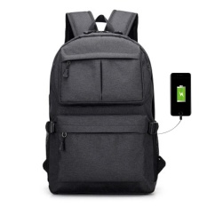 Palight Outdoor Men Backpack With Usb Charger Port Anti Theft Travel Bag - Intl By Palight.