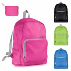 Phoebe's foldable waterproof travel backpack - (Pink)