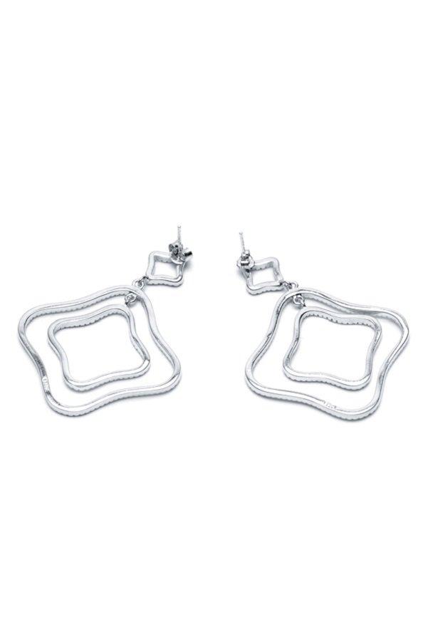 Piedras Borreda Earrings (Silver)