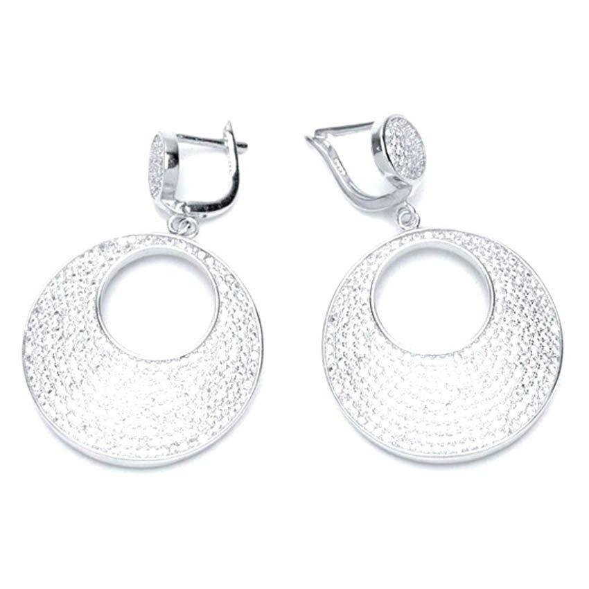 Piedras Cabrera Earrings (Silver)
