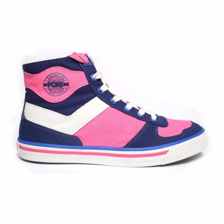 PONY WOMEN'S STREET ARCHIVE - ARENA HI (PATRIOT BLUE/BLANC)