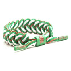RASTACLAT Shoelace Bracelet Mexico (Green/White/Red)