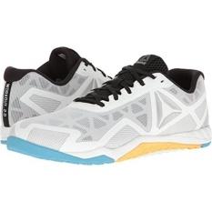 06ca427f92 Reebok Mens Ros Workout TR 2.0 Cross-Trainer Shoe, White/Black/Blue  Beam/Fir, US - intl