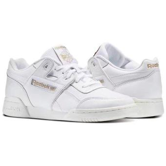 all white reebok shoes