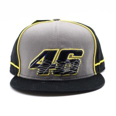 Rossi VR46 Baseball Cap MOTO GP Motorcycle 3D Embroidered Racing 46 Hat - intl