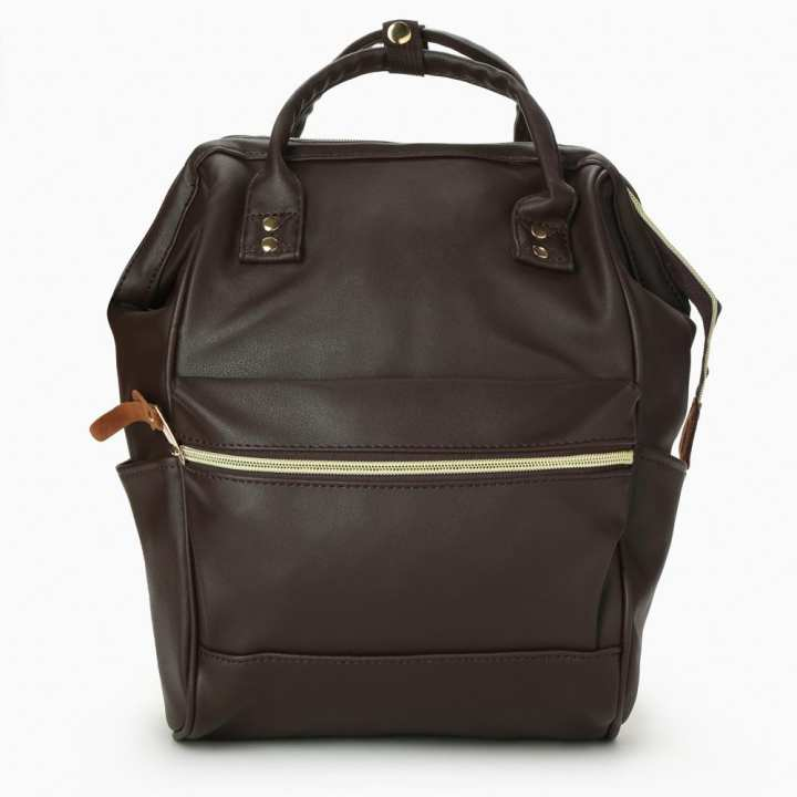 Salvatore Mann Mens Laith Backpack (Nut Brown)
