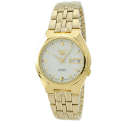 Seiko Automatic SNKL74K1 Gold All Stainless Steel Men's Watch