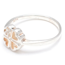 Silverworks R45837 Clover with One Ring (Silver)
