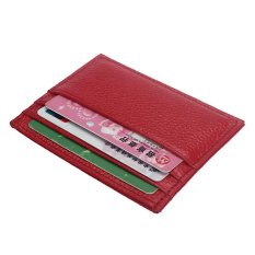 Slim Credit Card Holder Mini Wallet ID Case Purse Bag Pouch red - intl