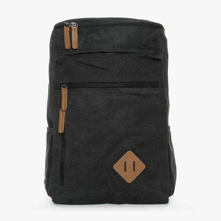 SM Accessories Mens Backpack (Black)