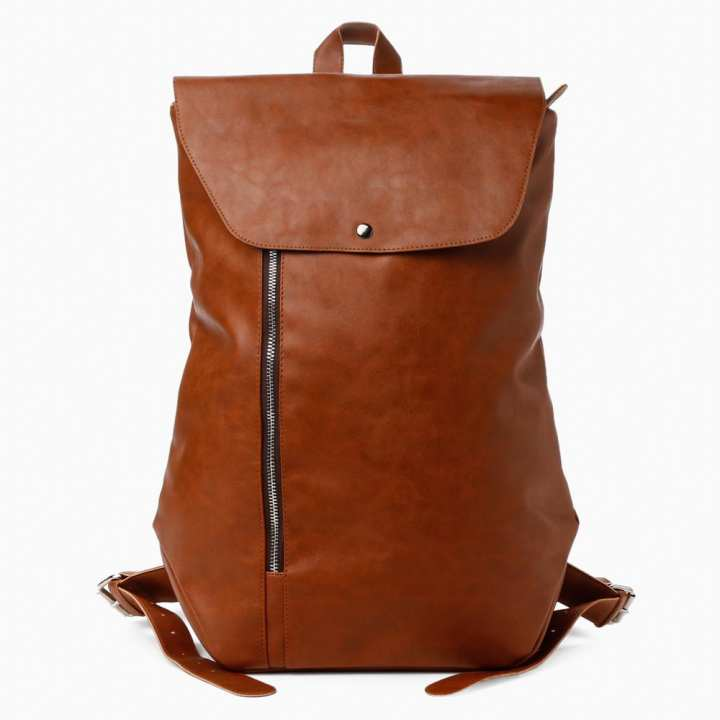SM Accessories Mens Backpack (Tan)