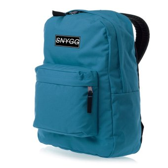 SNYGG Solid Backpack (Aqua Blue)