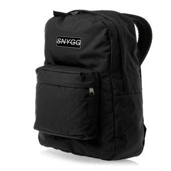 SNYGG Solid Backpack (Black)