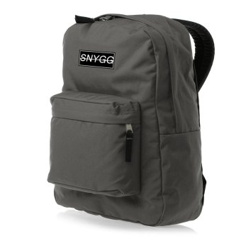SNYGG Solid Backpack (Charcoal)