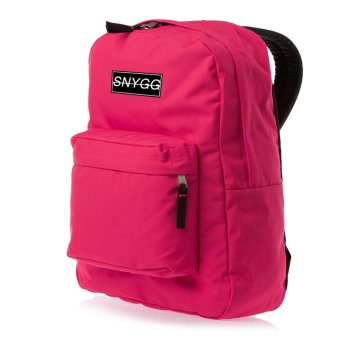 SNYGG Solid Backpack (Magenta)